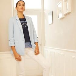 Chaqueta oversize punto pique💙✨ Coleccion Indigo🌼🐳  #chaquetas #coloresprimaverales #DANDARA #coleccionprimavera#indigo
