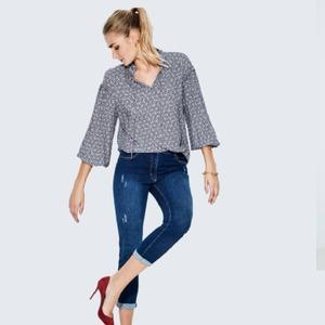 Blusa lazada colección Urban Blue💙 Colecciones versátiles, descubre Dandara💕  #dandara_spain #nuevo#moda #aw21 #modamujer #modaespañola #tiendasconencanto #lookdandara #camisas #outfits #autum #lovefashion #love #fashions #urban #photooftheday #colecciones
