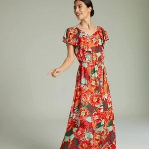 Vestido Vulcano ❤️💚 Segundas Rebajas✨  #DANDARA #colecciones #vestidos #rebajas #coloresverano #lookdandara #totallook #tropical #dandara_spain #segundasrebajas #descuentos