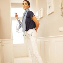 Pantalón pitillo bordado✨💙 Colección Indigo🌼🐳  #dandara_spain #pantalones #indigo #coloresprimaverales #colecciones #primavera #dándara